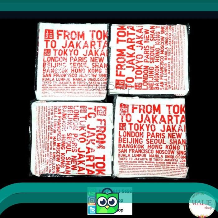 Official Novelty Tote Bag/Shoulder Bag/Tas Kanvas UNIQLO