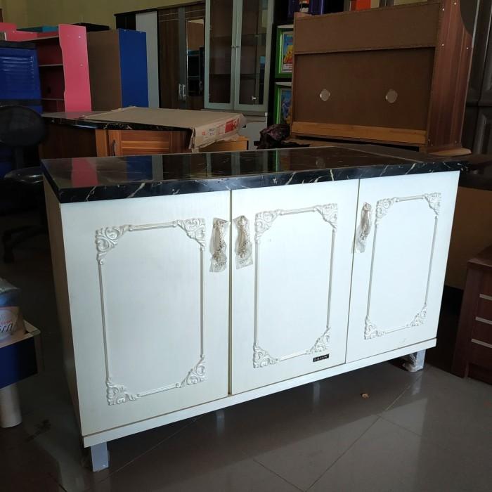 Jual Kitchen Set Bawah Ksb Olympic 3 Pintu Putih Model Marmer Kab Indramayu Toko Anyar Dua Indramayu Tokopedia