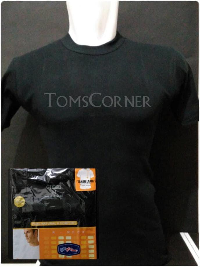 Jual New Pakaian Dalam Pria   Kaos Oblong Gt Man Hitam  34a5802228