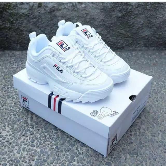 1fd0832990f3c2 Jual Sepatu sport fila (terlaris) - Putih, 42 - towear | Tokopedia