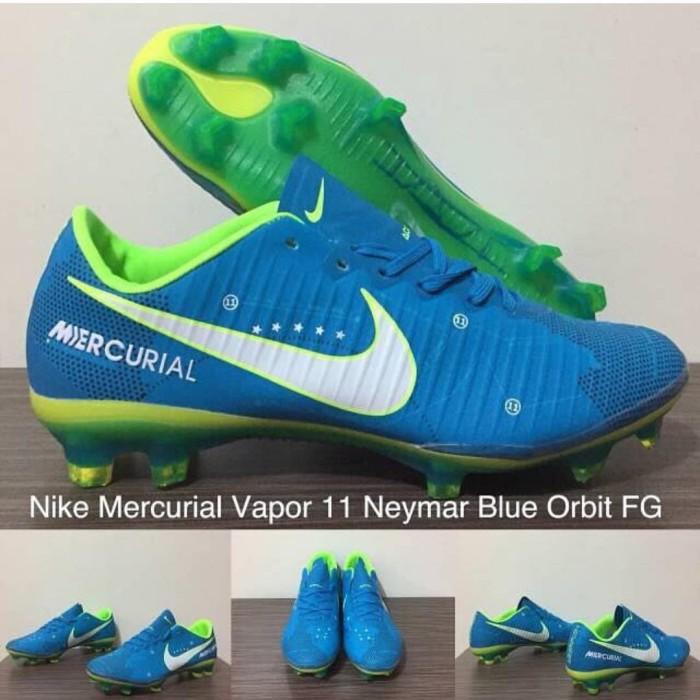 new concept 4868c 7eadf Jual Sepatu Bola Nike Mercurial Vapor 11 Neymar Blue Orbit FG - Kota Batam  - galerisepatuolahraga.id | Tokopedia