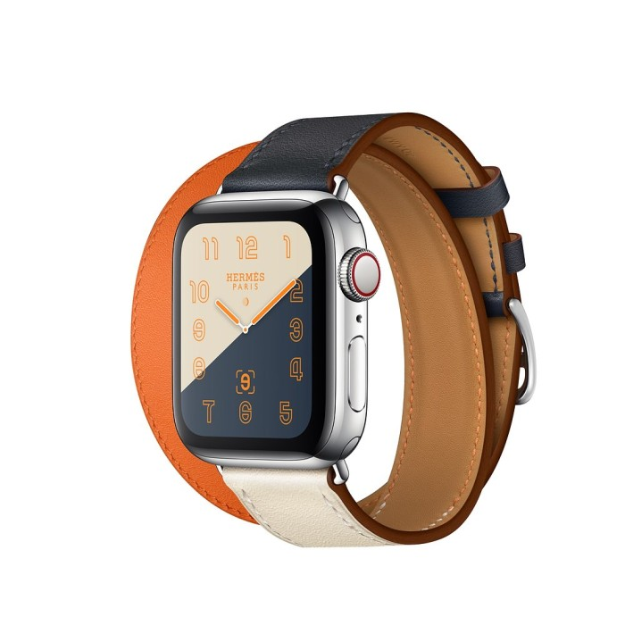 Jual Leather Strap For Apple Watch Hermes Double Tour Band 4 44mm 40mm Corr Jakarta Timur Smart Shop24 Tokopedia