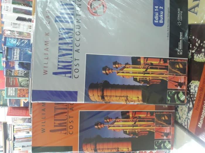Buku PAKET 2 BUKU AKUNTANSI BIAYA BUKU 1&2 edisi 14(WILLIAM K.CARTER)