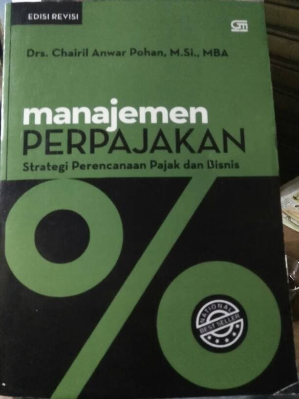 Buku Manajemen Perpajakan by chairil anwar pohan