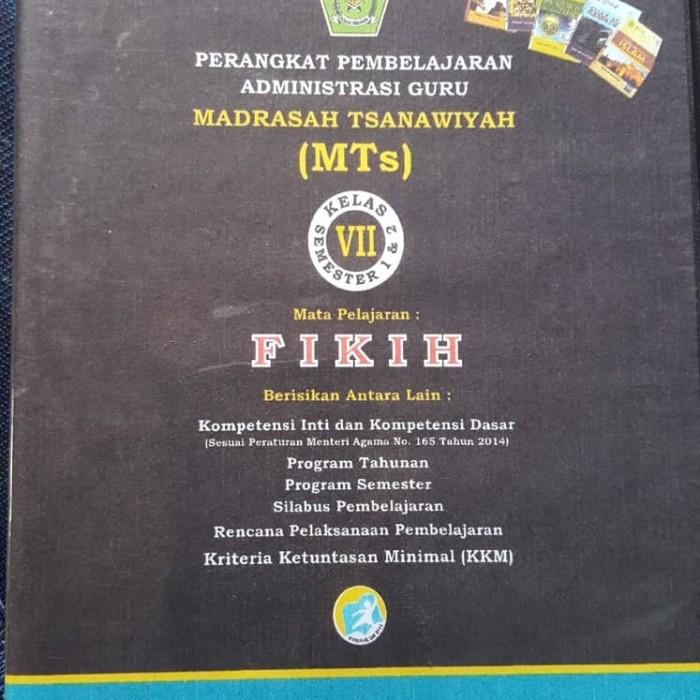 Jual Cd Rpp Perangkat Pembelajaran Fiqih Mts Kelas Viii K 13 Revisi 2017 Kota Bandung Zulvanstore Tokopedia
