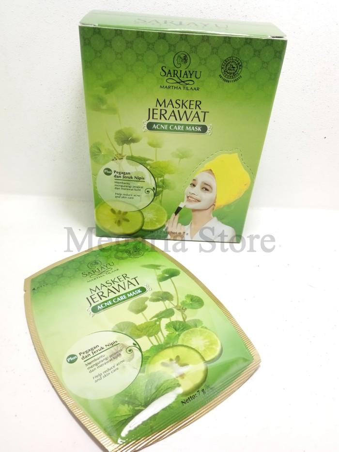 Sariayu Masker Jerawat Face Mask Acne Jerawat