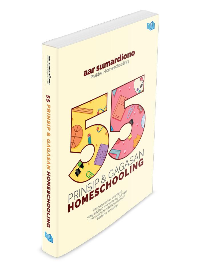 Foto Produk Buku 55 Prinsip dan Gagasan Homeschooling dari Bentang Ilmu