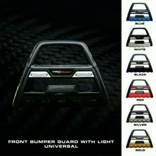 Foto Produk Tanduk depan bumper depan with led drl mobil rush terios dari Lembaran Variasi