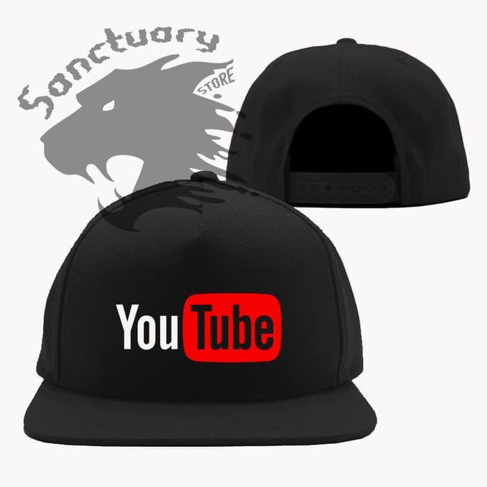 Jual Topi Snapback Youtube - BROTHERS APPAREL  219f606c11