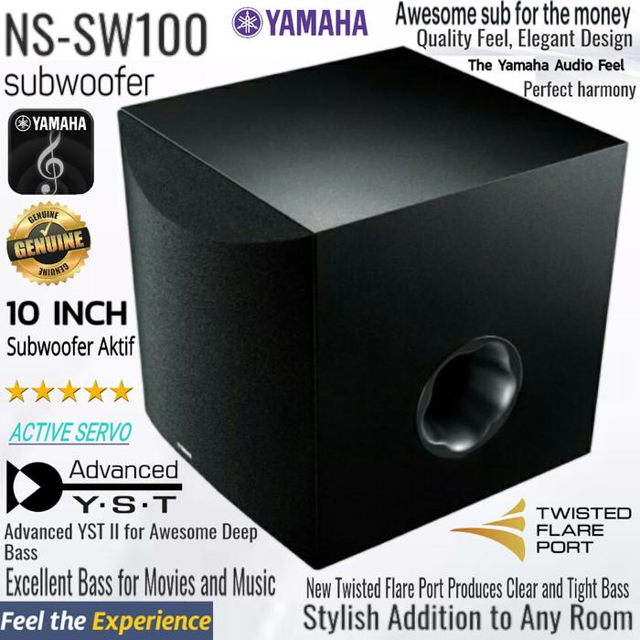 harga Subwoofer aktif yamaha 10 inch active servo Tokopedia.com