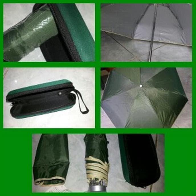 Jual Promo! - Payung Kecil Mini Lipat Dompet Kotak Kacamata Souvenir ... 23ad268288