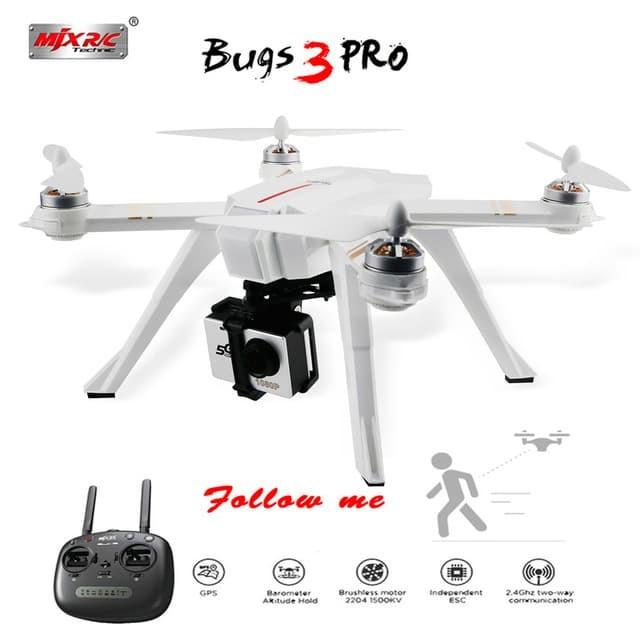 harga Gps Follow Me Drone Mjx Bugs 3pro Brushless 2.4g With C4000 Camera - Adhesi Blanja.com