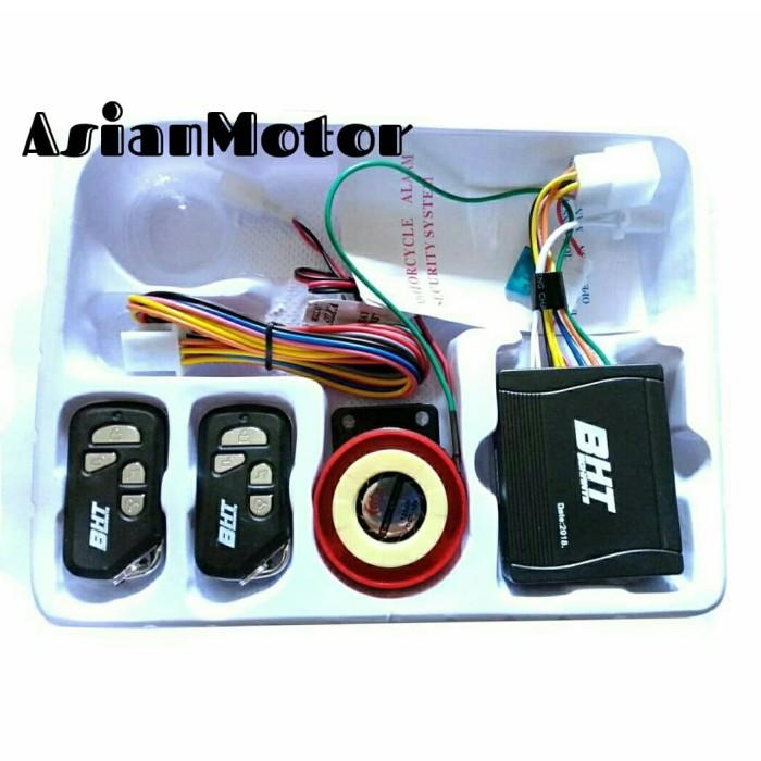 harga Alarm system motor bht model baru fitur lengkap + cara pasang premium Tokopedia.com