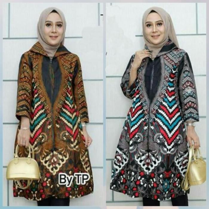 Jual Tunik Batik Solo Klasik 5 Dress Batik Baju Batik Solo Modern Kota Surakarta De Solo Batik Tokopedia