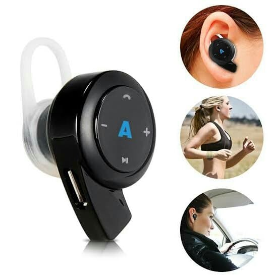 harga Mini bluetooth headphone 4.0 earphone bluetooth dengan pengaturan Tokopedia.com