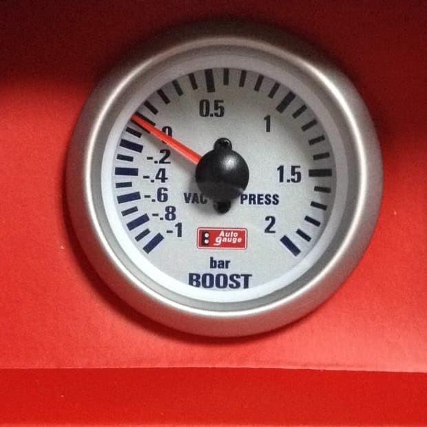 harga Tachometer autogauge 2  (boost meter) Tokopedia.com