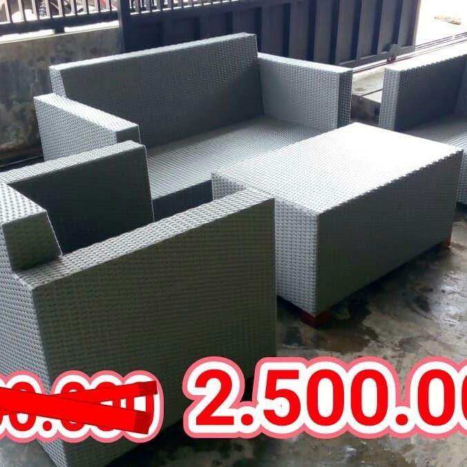 Jual Ready Stok Kursi Tamu Rotan Sintetis Kota Malang Produsen Furniture Rotan Tokopedia