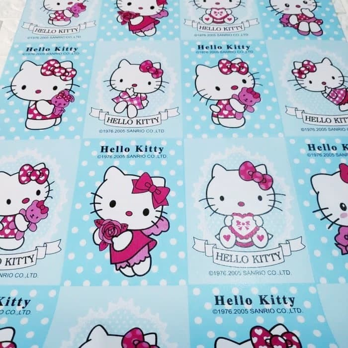 Jual Wallpaper Sticker Dinding Hello Kitty Biru Jakarta Utara Gallery Wallpaper Tokopedia