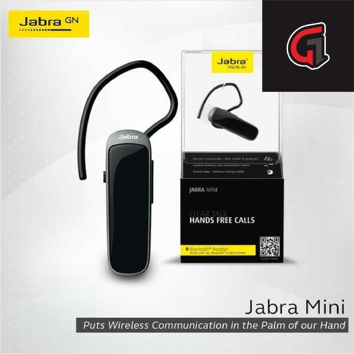 Jabra Mini Bluetooth Headset - Black