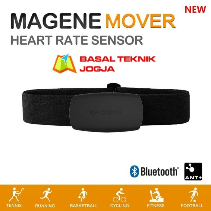 harga Magene mhr10 heart rate sensor monitor hrm for garmin bryton ant+ Tokopedia.com