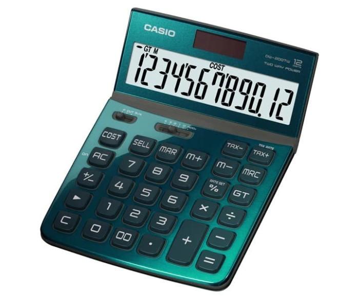 harga Dw-200tw-gn green | office | calculators | casio Tokopedia.com
