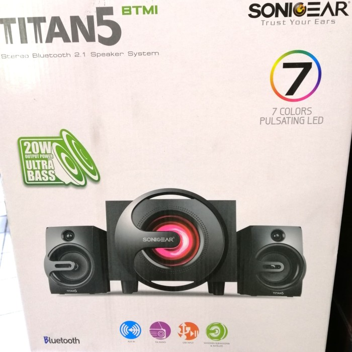 harga Spk sonicgear titan 5 Tokopedia.com