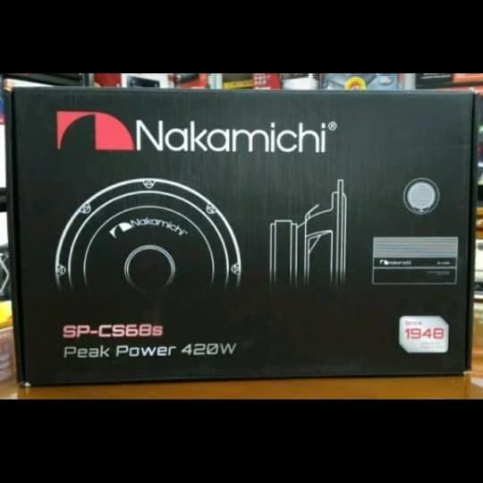 Info Nakamichi Speaker Split 6 Travelbon.com