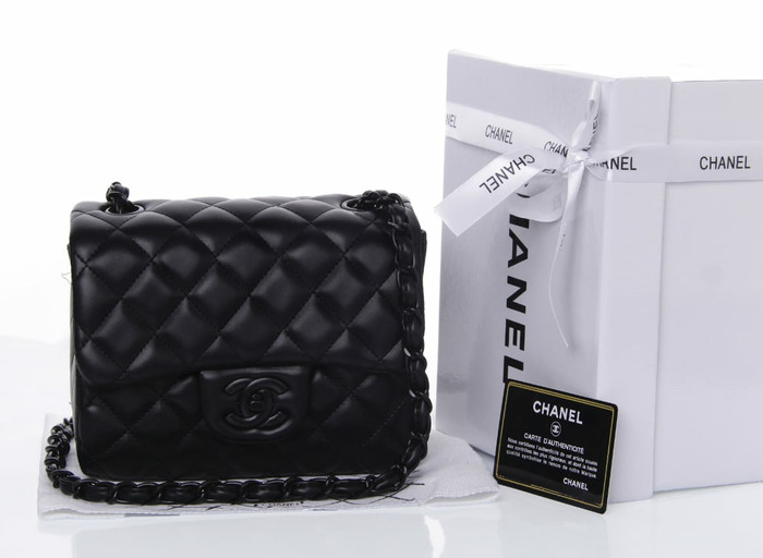 56291b1ba064 Jual CHANEL MINI FLAP SQUARE WITH BOX JB1115 - dhaffy collection ...