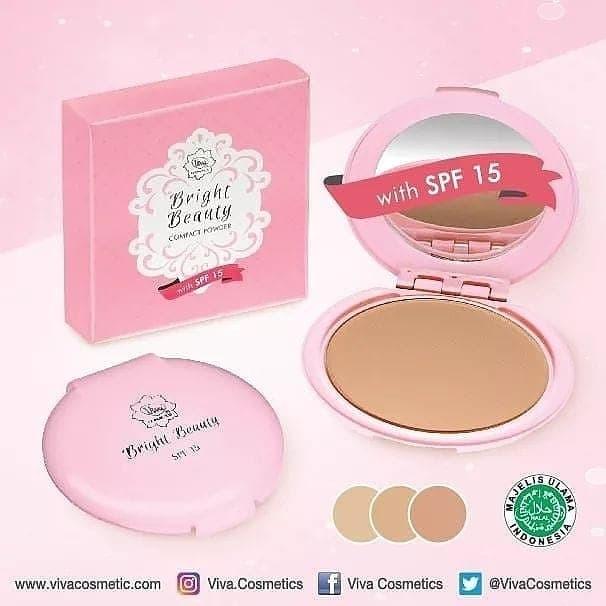 Bright Beauty Compact Powder Viva Cosmetics