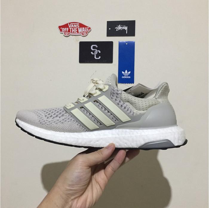 78f8293f758a2d Jual Sepatu Adidas Ultraboost 1.0 Light Tan Cream - moroseneng91