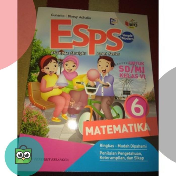 Download Buku Matematika Kelas 6 Kurikulum 2013 Penerbit Erlangga