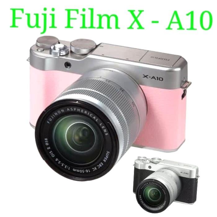harga Kamera mirrorless fuji film x - a10 kit 16-50mm Tokopedia.com