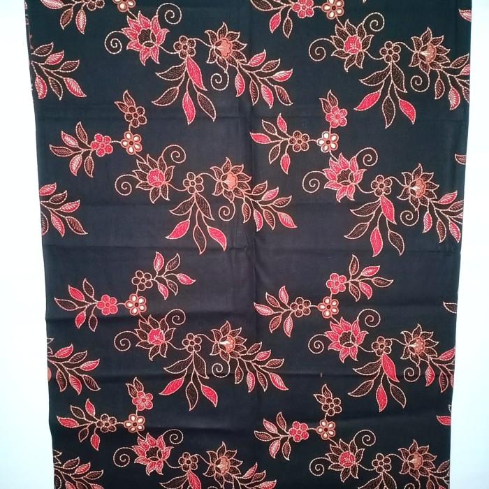 Jual kain batik tulis murah motif bunga bahan pakaian pria dan ... 14be3a22ab