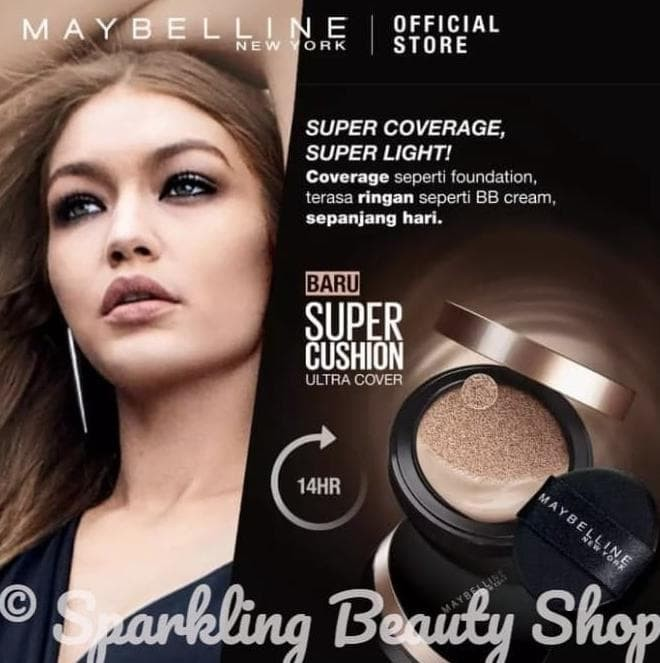 Maybelline Ultra Cover Super BB Cushion - SPF 50+ PA+++ - Natural