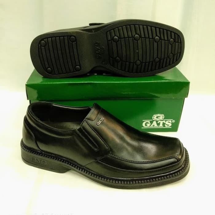 harga Sepatu kulit gats rf8007 hitam original - hitam Tokopedia.com