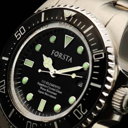 Jual Jam tangan forsta elemento original - Hitam - rubenn  c28fb12f73