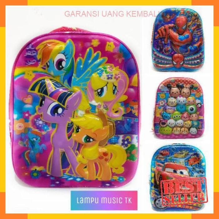 Jual Tas Lampu Musik Tk Tas Ransel Hardcase Timbul Tas Sekolah Pony Frozen Jakarta Barat Grosir5jakarta Tokopedia
