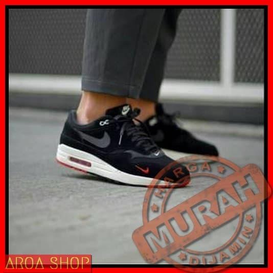 Harga Airmax One Lunar Master Sepatu Original Premium Noir Nike Brown BqxrfB 738ba50719