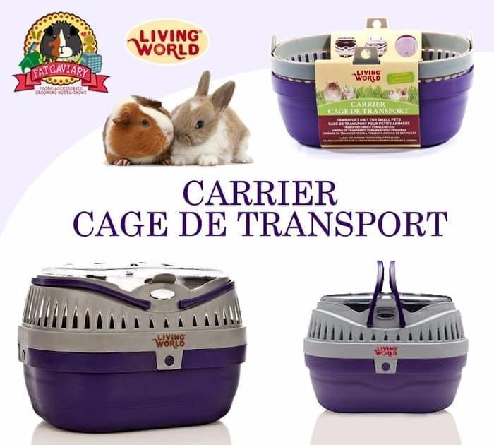 c1e8553d5ef Jual Living world pet carier , pet carrier kelinci , guinea pig ...