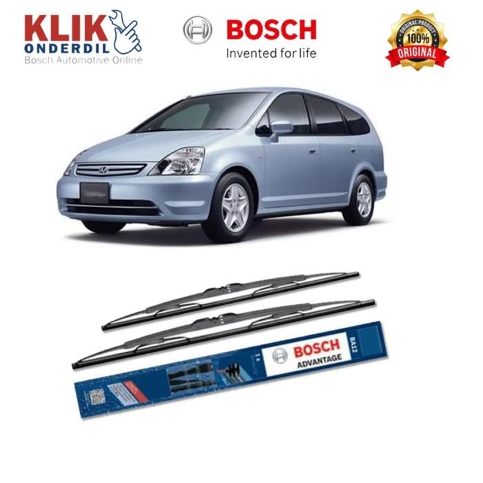 harga Bosch sepasang wiper mobil honda stream rn (2000-2006) advantage 24&14 Tokopedia.com