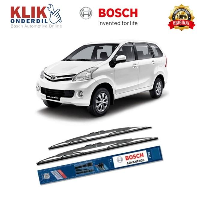 harga Bosch sepasang wiper kaca mobil toyota new avanza advantage 21  & 14 Tokopedia.com