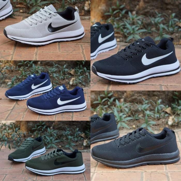 harga Nike flyknit zoom size 39 - 43 #sepatu cowo olahraga running sports Tokopedia.com