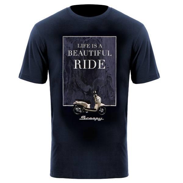 Foto Produk Scoopy LBR T-Shirt Navy dari Honda Cengkareng
