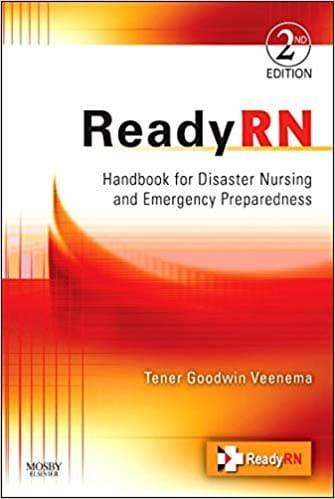 Readyrn: handbook for disaster nursing and emergency p (9780323673013)