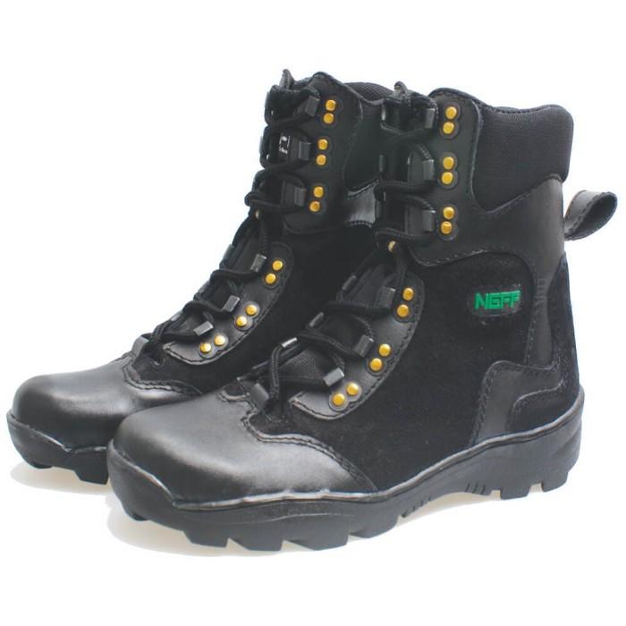 Jual Sepatu Boot Kulit Asli Panjang Safety Pria BSM 245 Merk Neff ... 3f2edd2b97