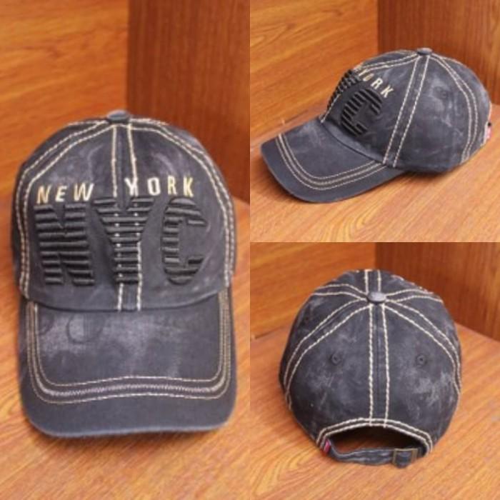 Jual Stock Terbatas !! Topi Import New York NYC Bordir Baseball Caps ... 9a402b9caa