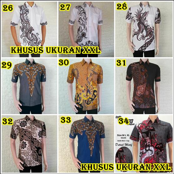 80 Gambar Baju Batik Pria Ukuran Jumbo Terbaik