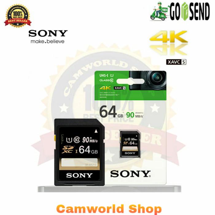 harga Memory sony 64gb 90mb/s class10 4k uhs-1 Tokopedia.com