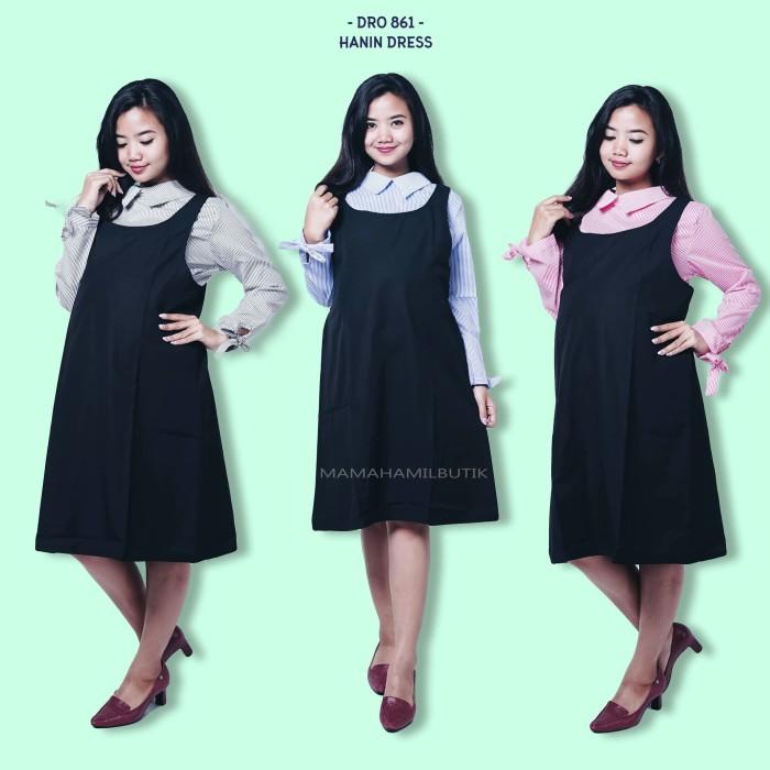 harga Baju hamil dress overall hamil menyusui kerja salur cantik - dro 861 Tokopedia.com