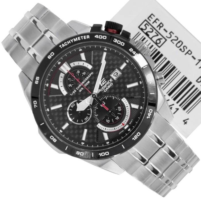 Jual jam tangan pria original bm merk casio edifice type ef 520 ... 7805499249